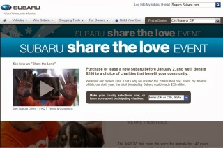 http://www.subaru.com/share-the-love.html